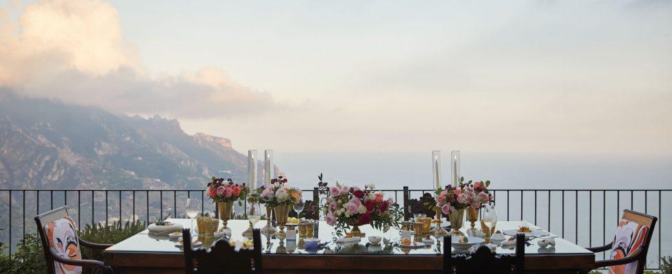 Mangiare in hotel: Belmond Caruso in Costiera Amalfitana