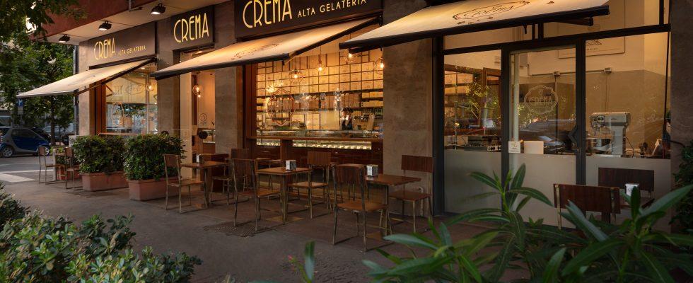 Apre a Milano Crema, la gelateria modaiola