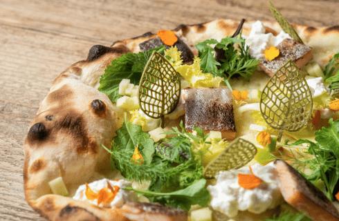Lovatel porta le sue pizze al ristorante di Norbert Niederkofler
