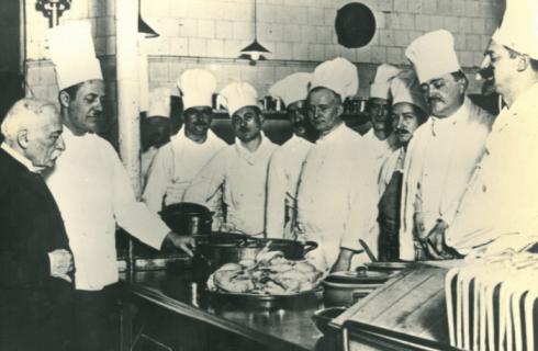 Storia dei grandi chef: Auguste Escoffier