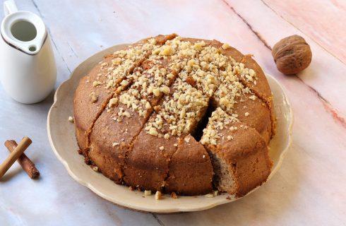 Karidopita: dalla Grecia un'irresistibile torta alle noci