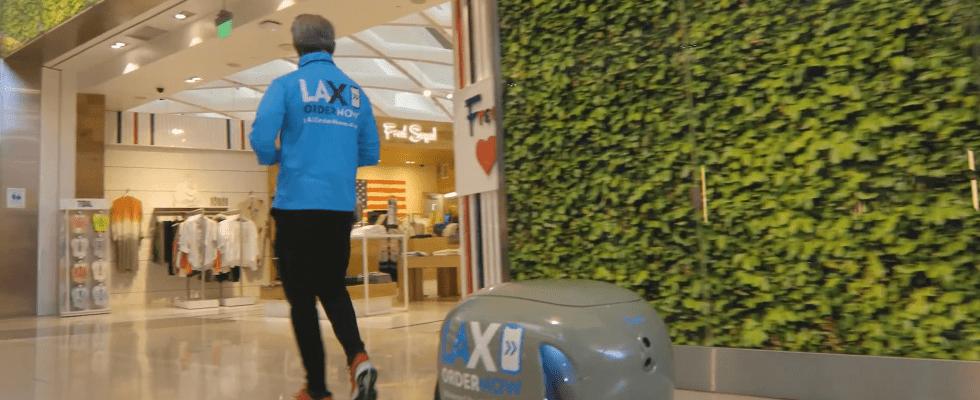 All'aeroporto di Los Angeles arriva il robot che consegna il cibo